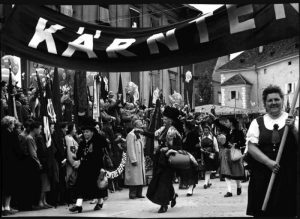 Frauentagsfeier der SPÖ in Klagenfurt 1955, Bild: VGA