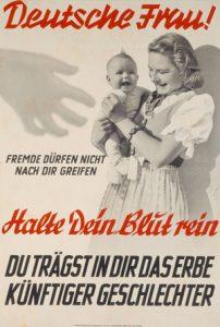 1944: Plakat der NSDAP